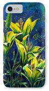 Lilies IPhone Case by Zaira Dzhaubaeva