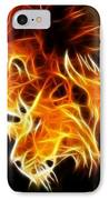 Lions In Love IPhone Case by Pamela Johnson