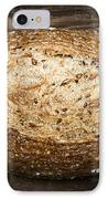 Loaf Of Multigrain Artisan Bread IPhone Case
