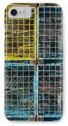 Lobster Traps IPhone Case by Stuart Litoff