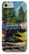 Local Train IPhone Case