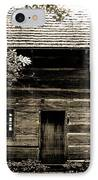 Log Cabin Home IPhone Case by Brenda Donko