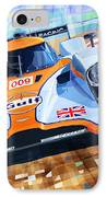 Lola Aston Martin Lmp1 Racing Le Mans Series 2009 IPhone Case