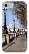 London View From South Bank IPhone Case by Elena Elisseeva