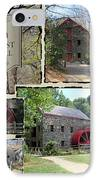Longfellow's Grist Mill IPhone Case by Patricia Urato