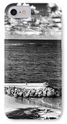 Looking Out Into The Ocean IPhone Case by John Rizzuto