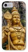 Lord Murugan IPhone Case by Adrian Evans