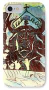 Lord Of The Dance IPhone Case by Gloria Ssali