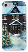 Louisa May Alcott's Christmas IPhone Case