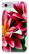 Love And Flowers IPhone Case by Kathy  White