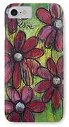 Love For Five Daisies IPhone Case
