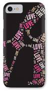 Love Quatro - S08a IPhone Case by Variance Collections