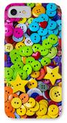 Lovely Buttons IPhone Case