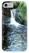 Lower Fall Puck's Glen IPhone Case by Gary Eason