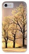Luminous - Blue Ridge Winter Sunset IPhone Case