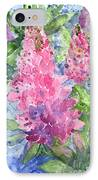 Lupine Time IPhone Case