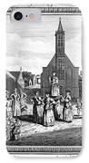 Lutheran Wedding, 1700s IPhone Case by Granger