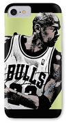 M J IPhone Case