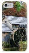 Mabry Mill II IPhone Case by Joan Bertucci
