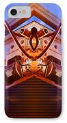 Machine Maid IPhone Case by Wendy J St Christopher