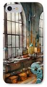 Machinist - Back In The Days Of Yesterday IPhone Case by Mike Savad