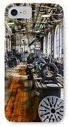 Machinist - Precision Matters IPhone Case by Paul Ward