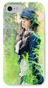 Mad Hatter IPhone Case by Stephanie Necessary