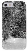 Made In Maine Winter  IPhone Case