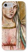 Madonna Del Parto - Study No. 1 IPhone Case
