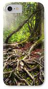 Magical Light On The Appalachian Trail IPhone Case by Debra and Dave Vanderlaan