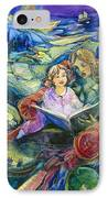 Magical Storybook IPhone Case by Jen Norton