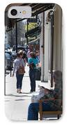 Main Street Concord IPhone Case by Allan Morrison