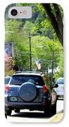 Main Street IPhone Case by Patti Whitten