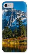 Majestic Mount Shuksan IPhone Case by Inge Johnsson
