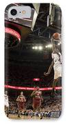 Mamadi Diane Dunk Against Boston College IPhone Case by Jason O Watson
