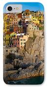 Manarola IPhone Case by Inge Johnsson