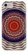 Mandala 10 IPhone Case by Terry Reynoldson