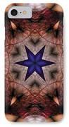 Mandala 14 IPhone Case by Terry Reynoldson