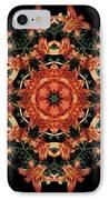 Mandala Daylily IPhone Case