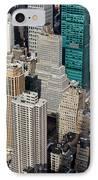 Manhattan Bryant Park IPhone Case by Jannis Werner