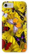 Many Butterflies On Mums IPhone Case