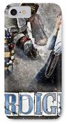 Mardi Gras Artwork IPhone Case by Ray Devlin