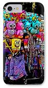 Mardi Gras Vendor's Cart IPhone Case