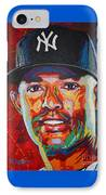 Mariano Rivera IPhone Case by Maria Arango