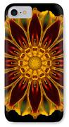Marigold Flower Mandala IPhone Case