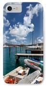 Marina St Thomas Virgin Islands IPhone Case by Amy Cicconi