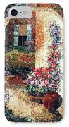 Marina's Garden IPhone Case by Lenore Crawford