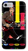 Marty Mcfly Plays Guitar Hero IPhone Case