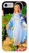 Mary In Sunlight IPhone Case by Ed Weidman