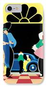 Masked Ball IPhone Case by Brian James